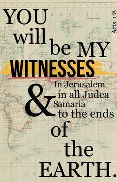 Be My Witness