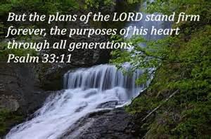 Psalm 33,11 promise