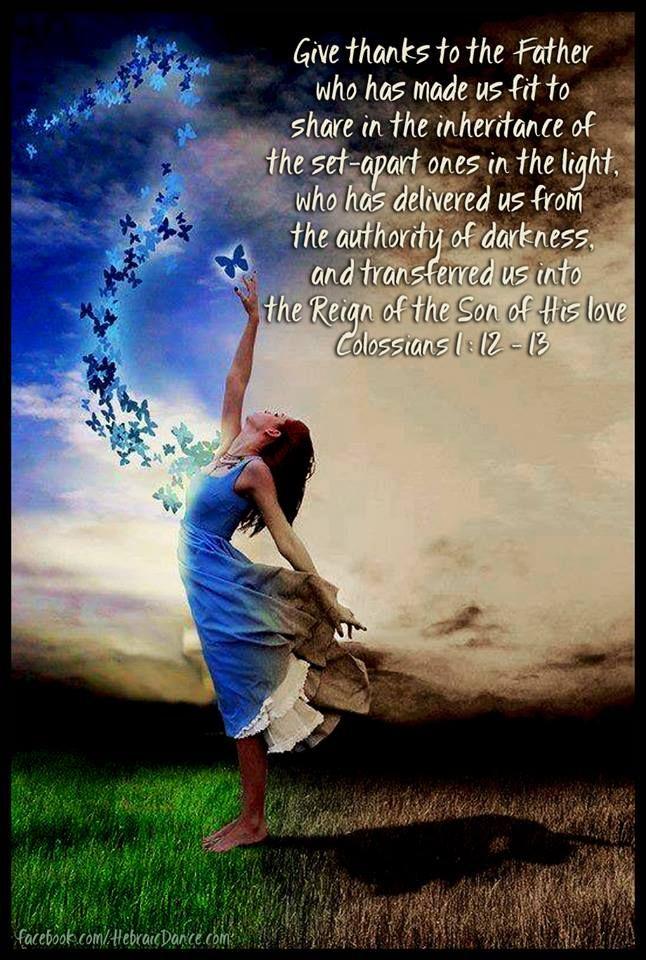 Colossians 1,12-13