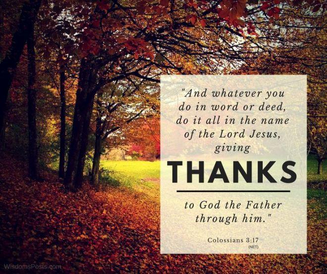 Colossians 3,17