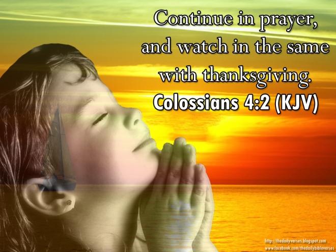 Colossians 4,2