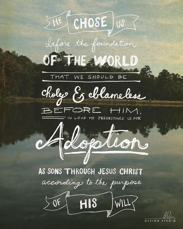 Ephesians 1,4,5