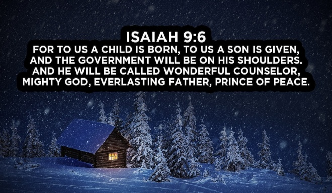 Isaiah 9,6 memory