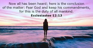 Ecclesiastes 12_13