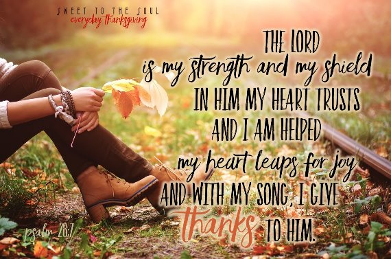 Psalm 28,7