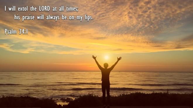 Psalm 34,1