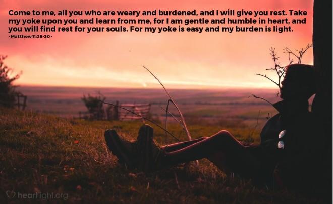 Matthew 11_28,30