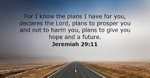 Jeremiah 29,11