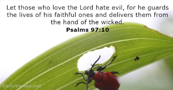 psalms 97-10