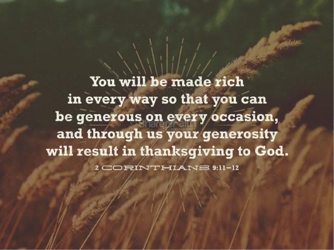 2 Corinthians 9_11-12