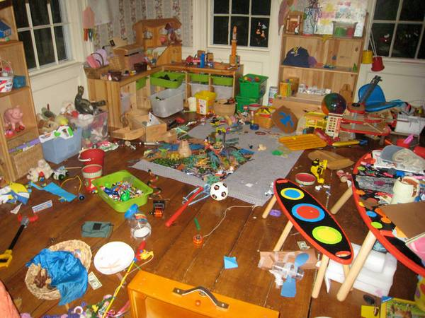 Overflow Of Toys