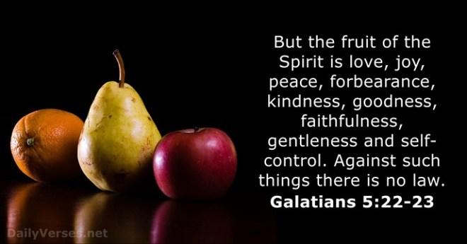 Galatians 5_22,23