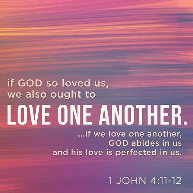 1 John 4_11-12