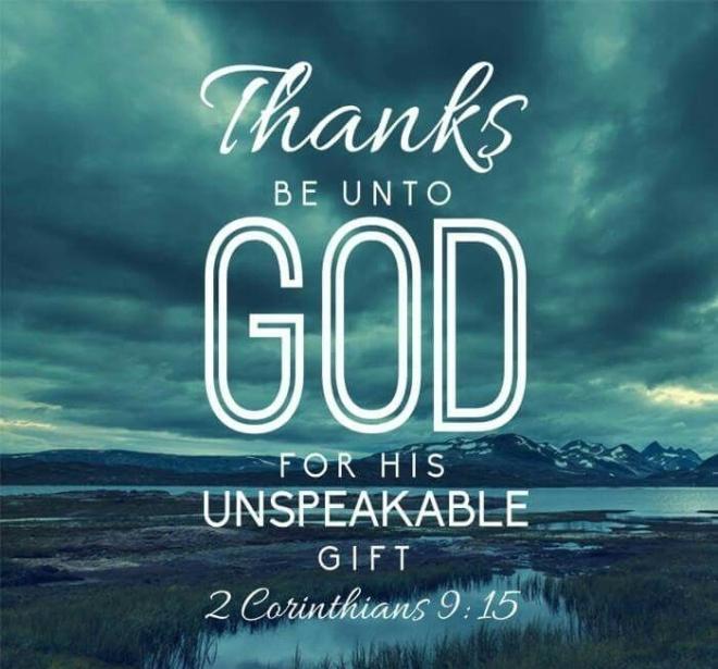 2 Corinthians 9_15