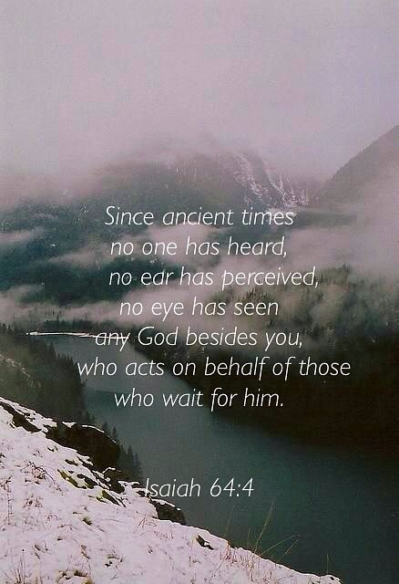 Isaiah 64_4