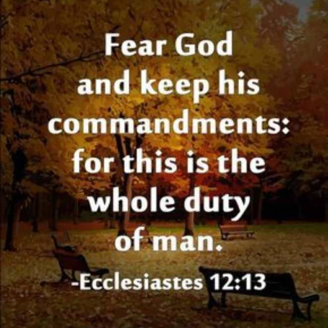Ecclesiastes 12-13