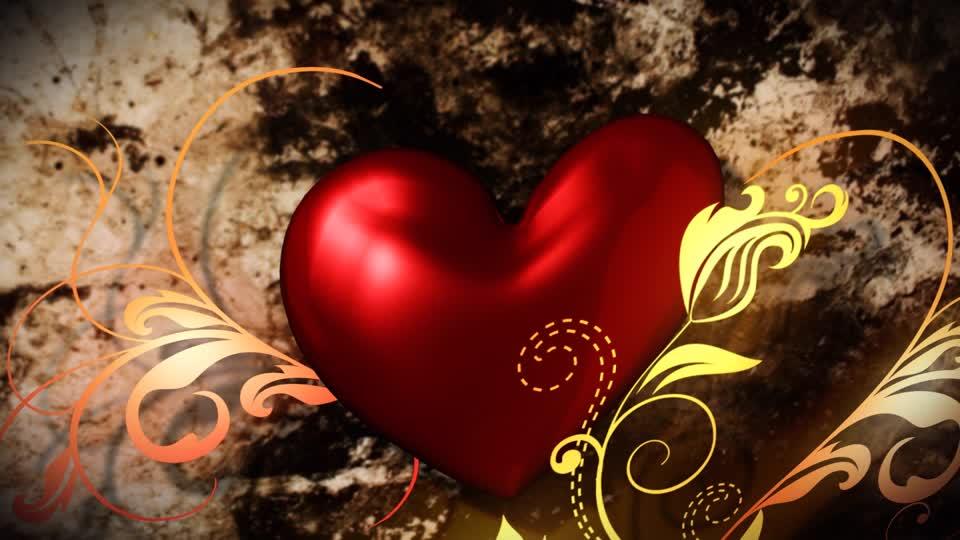 Heart on stone