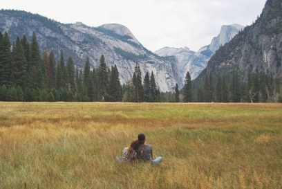 Yosemite Valley Mountains