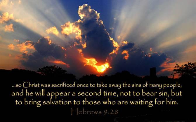 Hebrews 9_28