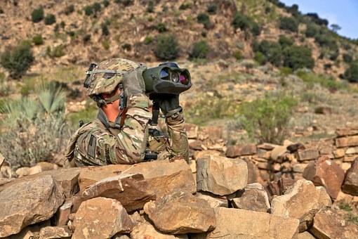 Soldier Watching