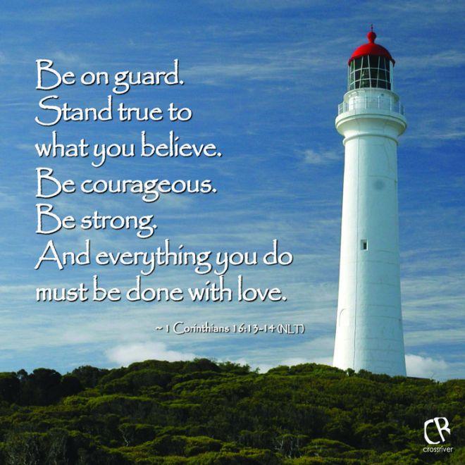 1 Corinthians 16_13-14