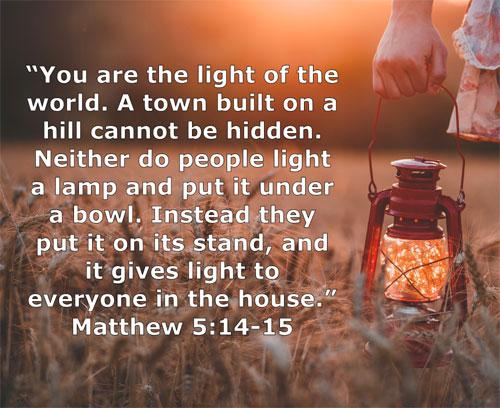 Matthew 5_14-15