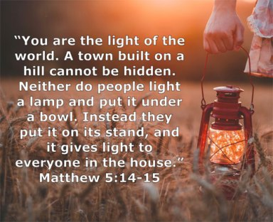 Image result for Matthew 5:14,15