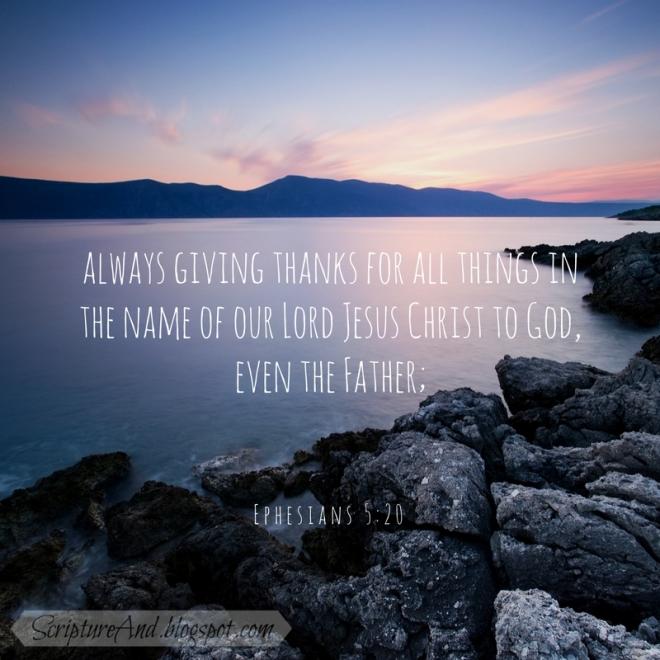 Ephesians 5-20