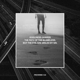 Proverbs 13_6