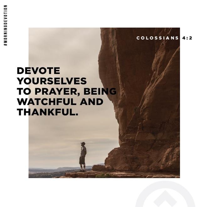 Colossians 4-2