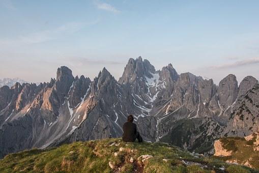 alpine mountain view