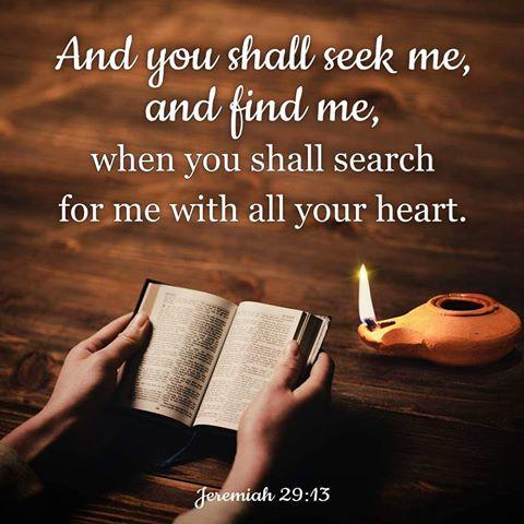 jeremiah 29-13
