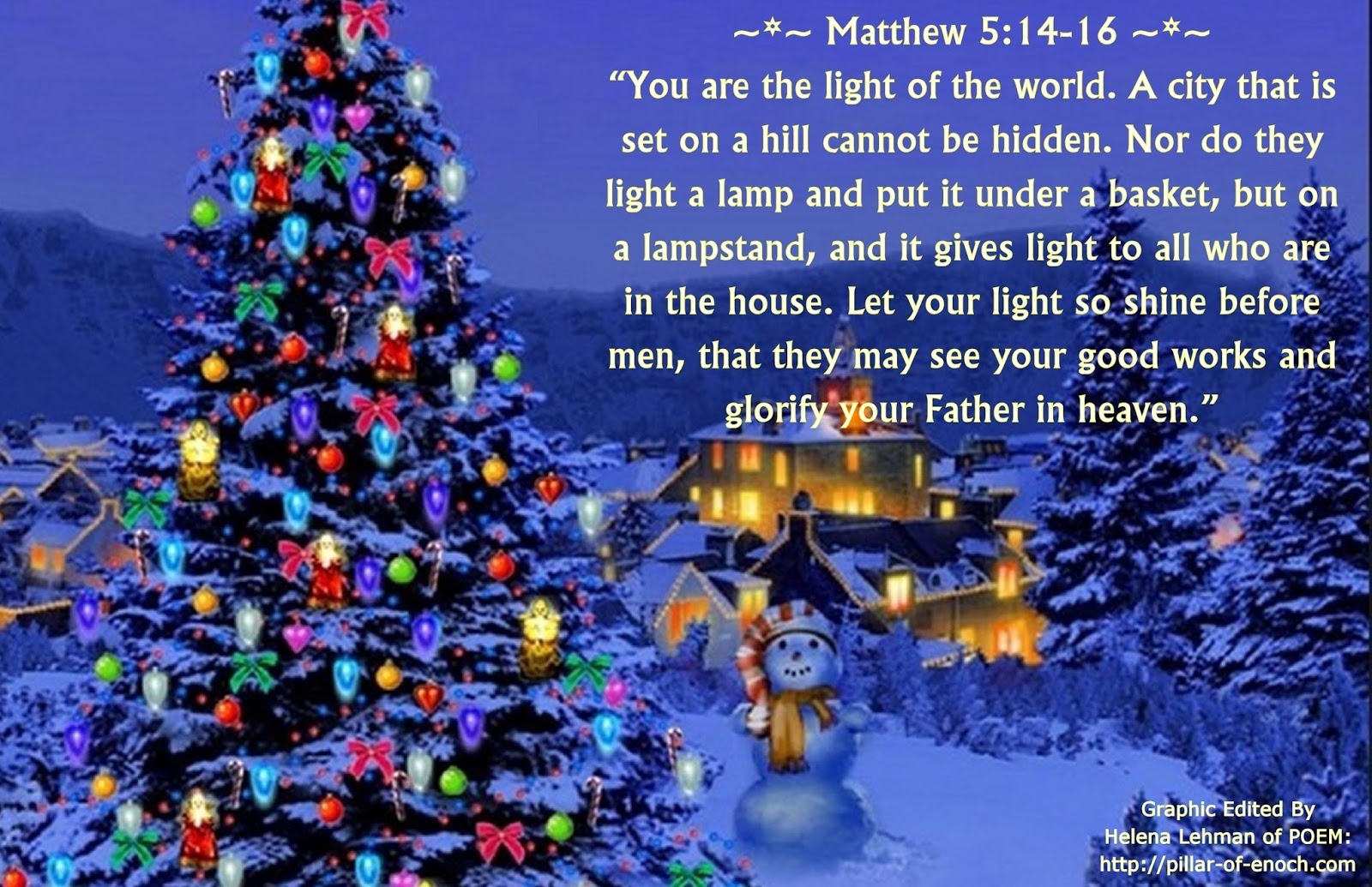 matthew 5_14-16