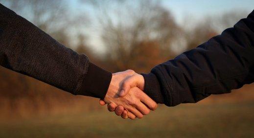 Handshake promise