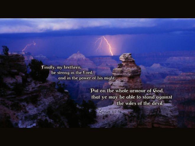 Ephesians 6_10-11