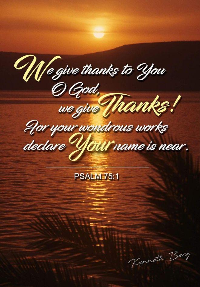 Psalm 75_1