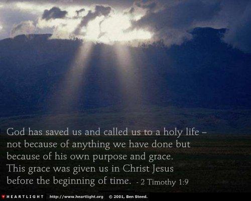 2 Timothy 1-9