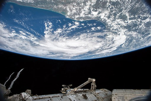 Earth from space station