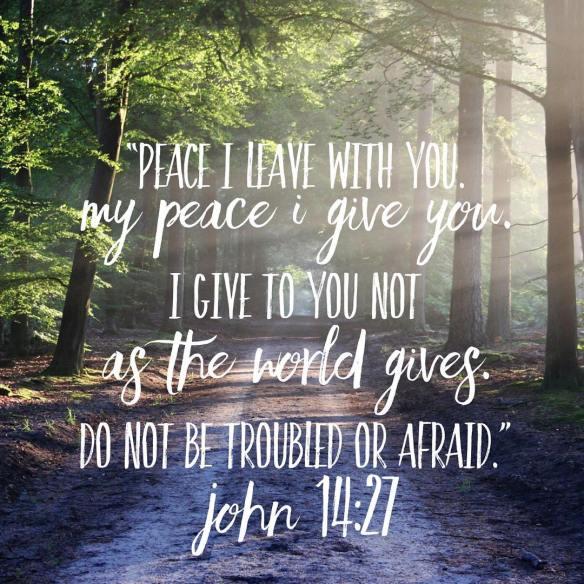 John 14:27 | Insights From Tom