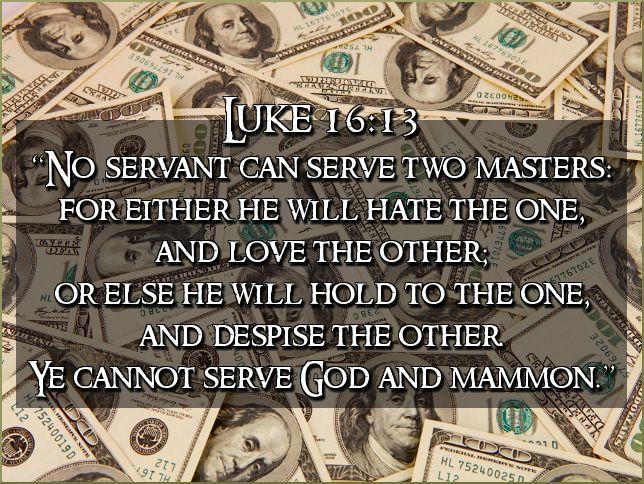 Luke 16-13
