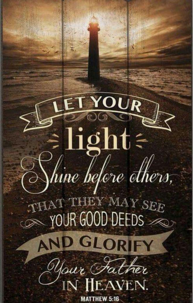 Matthew 5+16