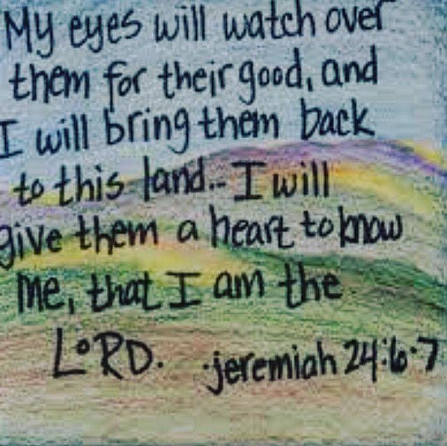 Jeremiah 24_6-7