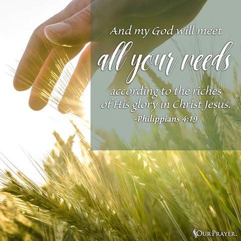 Philippians 4-19