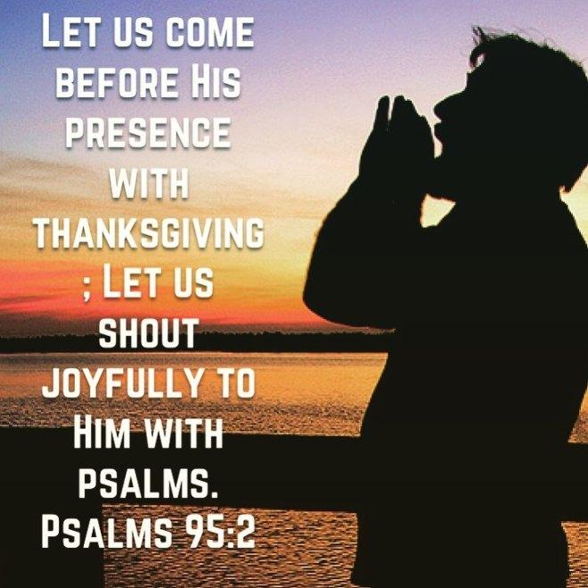 Psalm 95-2