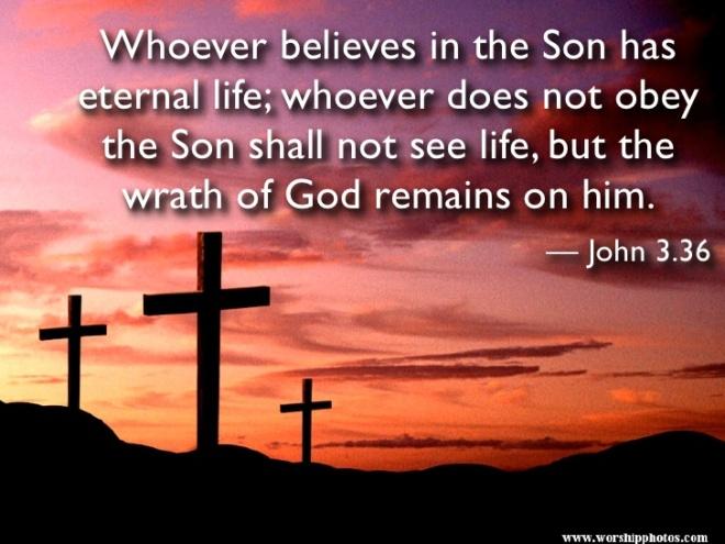 John 3-36