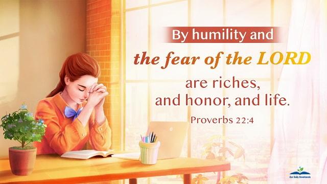 Proverbs 22-4