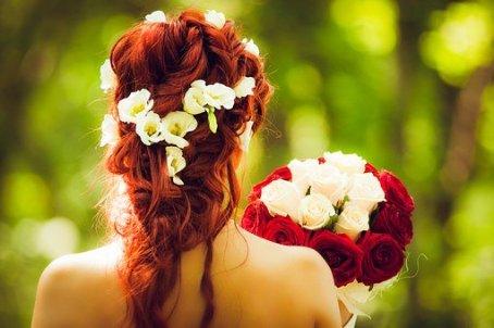 Brides back