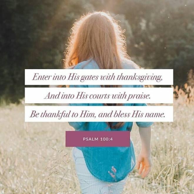 Psalm 100+4