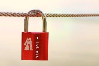 Security lock love