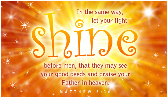 Matthew 5=16